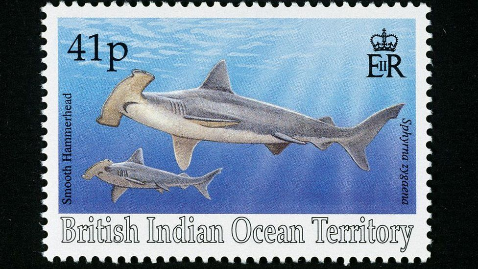 A British Indian Ocean Territory stamp. File photo