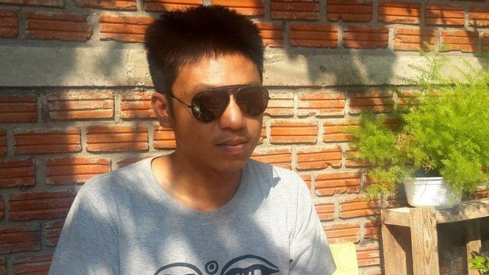 Jatupat Boonpattararaksa, Thai activist, 3 December 2016