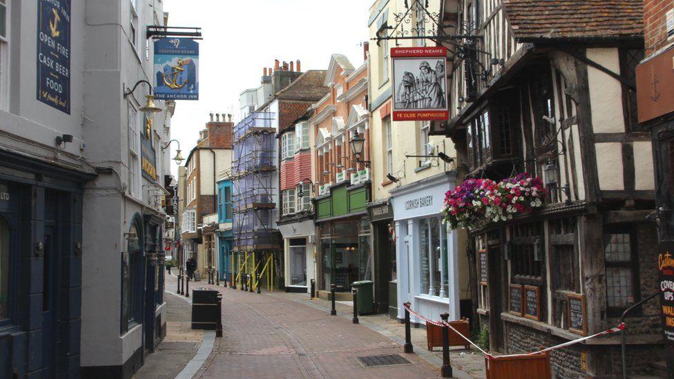 George Street, Hastings Old Town
