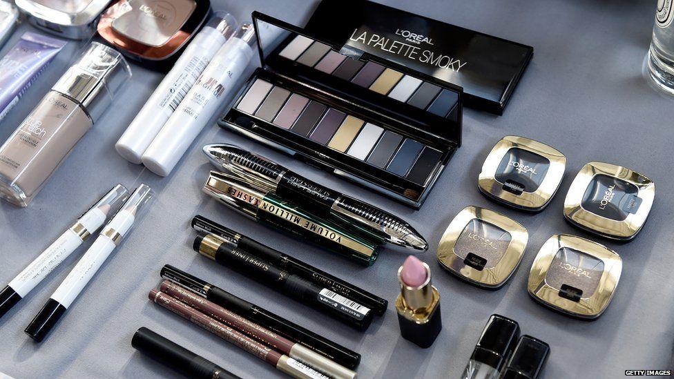 L'Oreal cosmetics