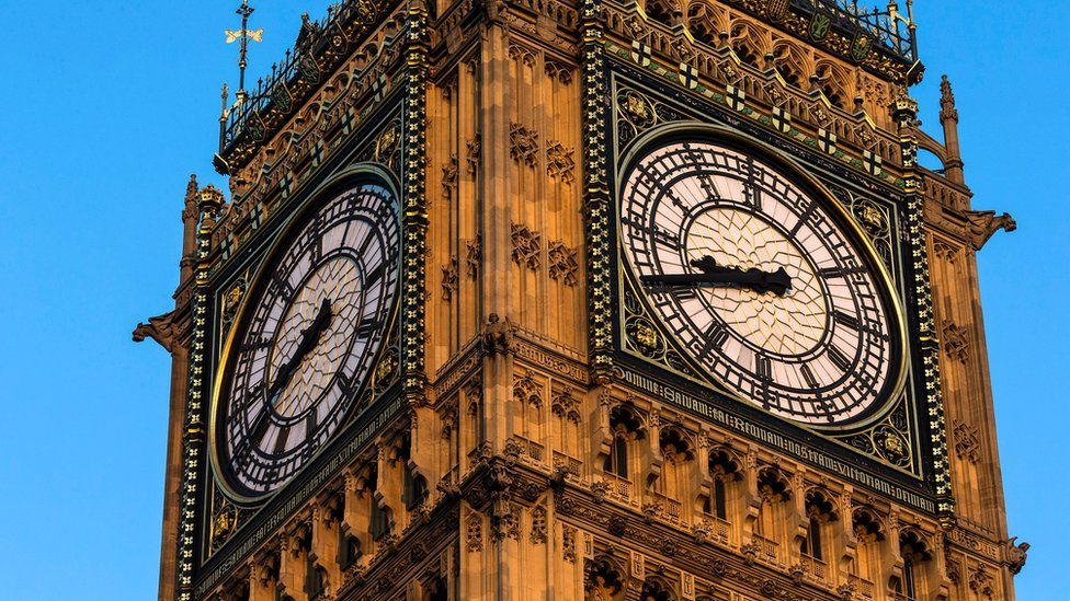 Great Clock on the Houses of Parliament