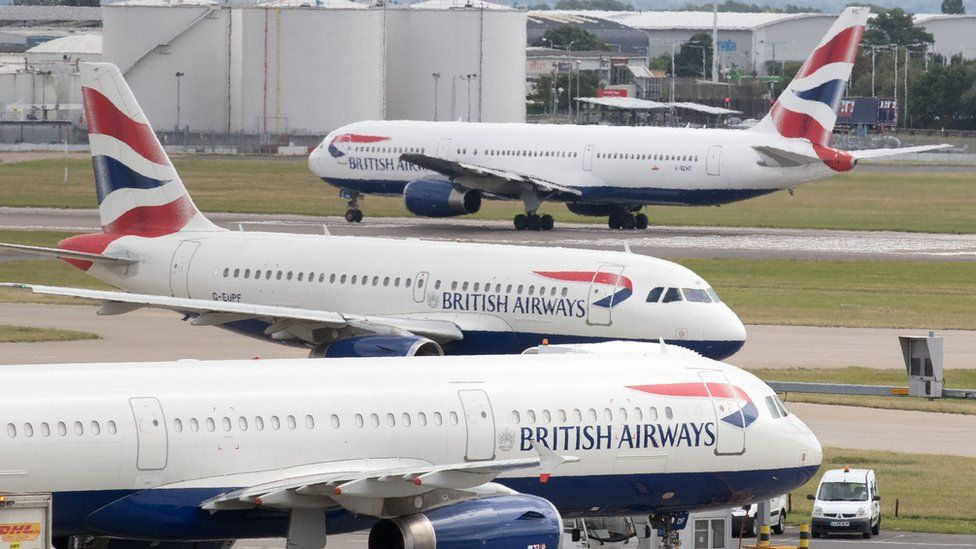 British Airways strikes: Cancelled flights back on after 'email error'