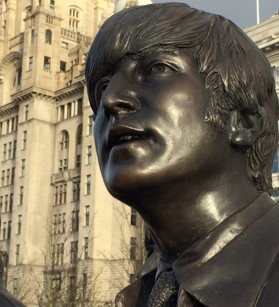 John Lennon statue