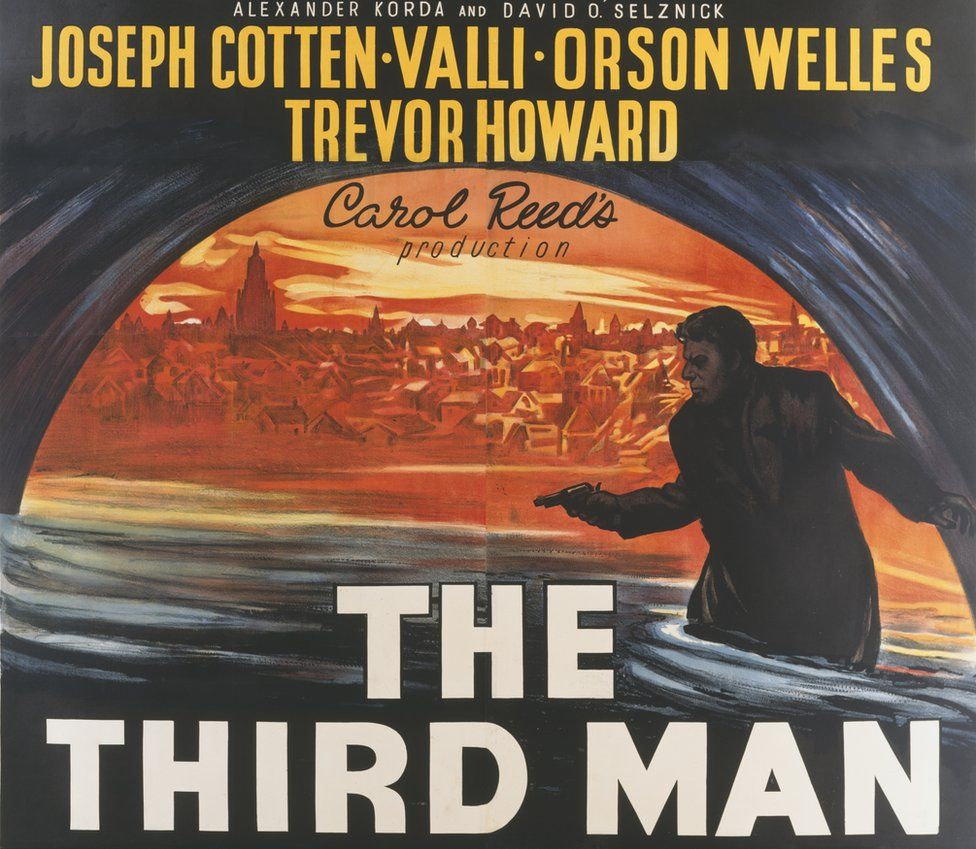 Poster for The Third Man in 1949