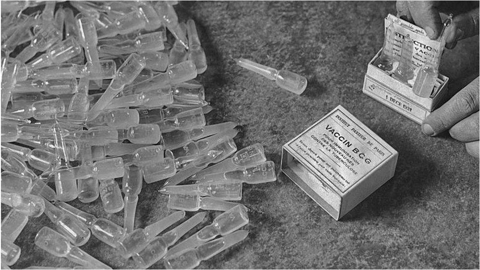 BCG (Bacillus Calmette-GueŽrin) vaccine