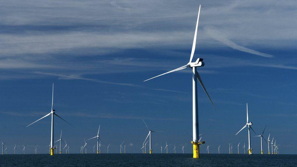 Rampion Wind Farm off the Sussex Coast
