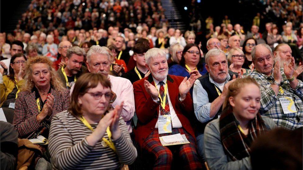 SNP delegates