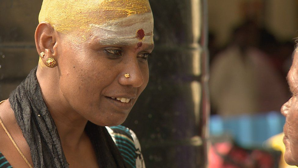 How Indians Shave Their Head And Hope For Luck Bbc News