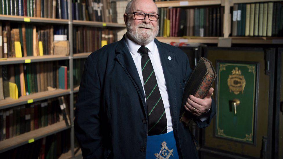 Bob Cooper, Curator, Grand Lodge of Scotland
