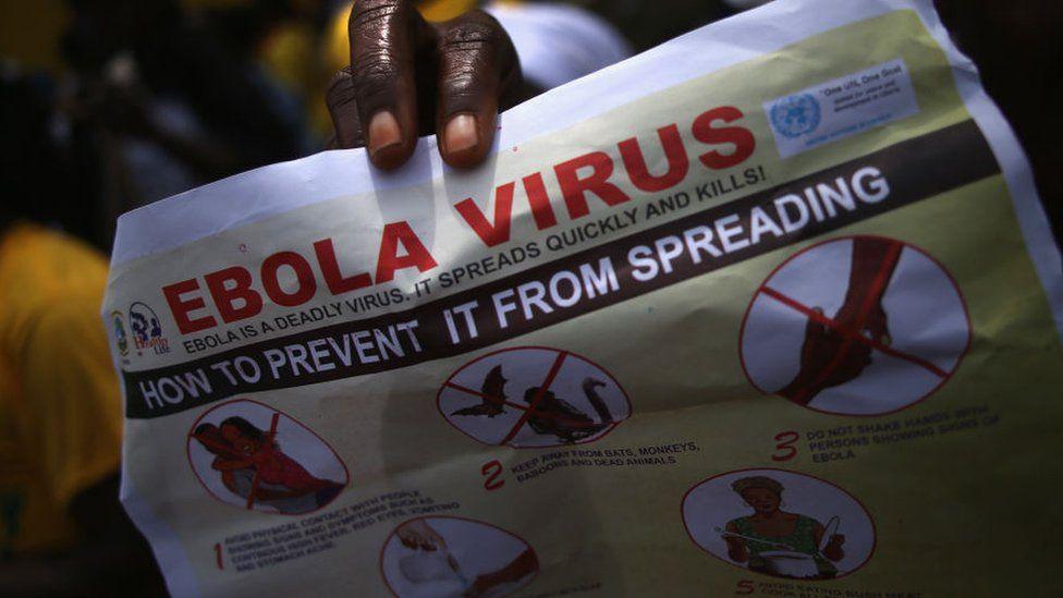 Ebola safety poster