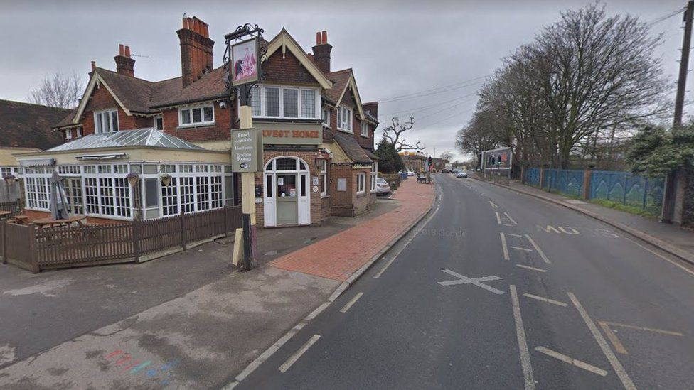Pub on Beddington Lane, Sutton