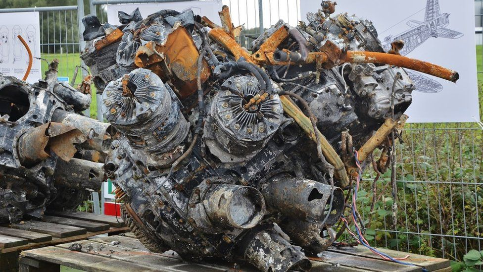 A recovered engine
