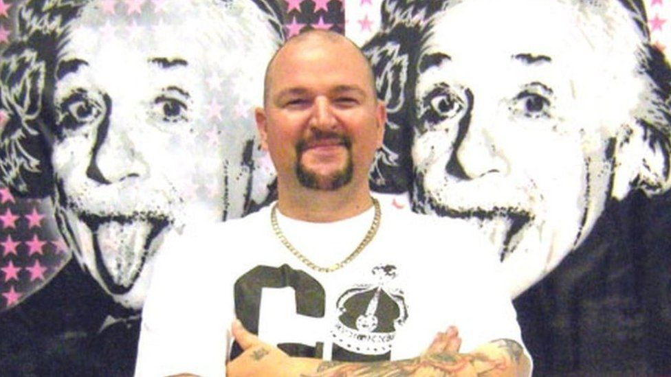Graffiti artist Darren Cullen