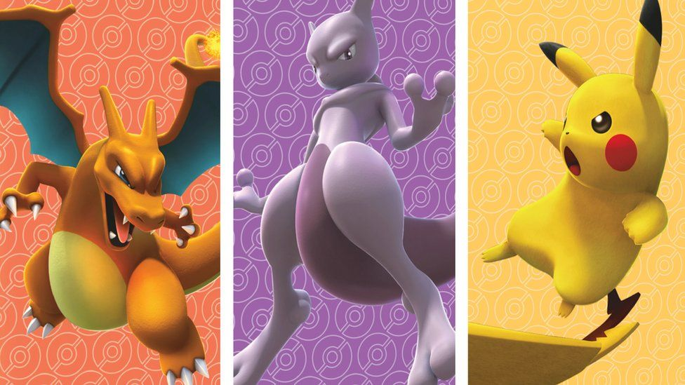 Three of the characters in Pokemon