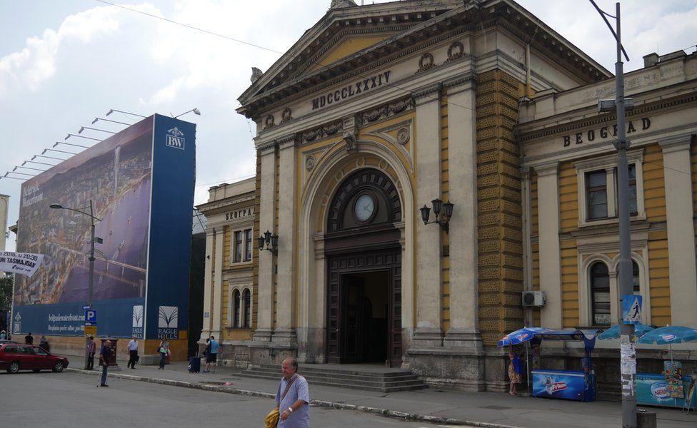 Belgrade railway station