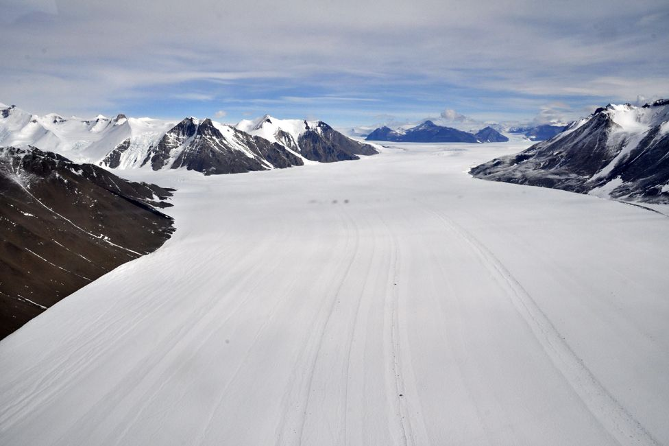 A scene from Antarctica