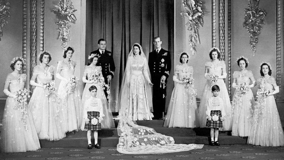 70th Wedding Anniversary.The Queen And Prince Philip Celebrate Their 70th Wedding Anniversary