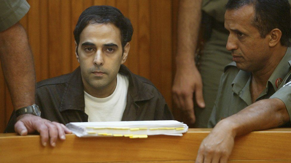 Yigal Amir in court (file photo)