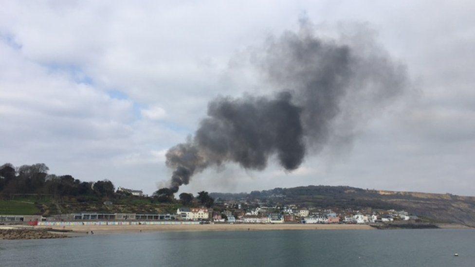 Lyme Regis cinema fire