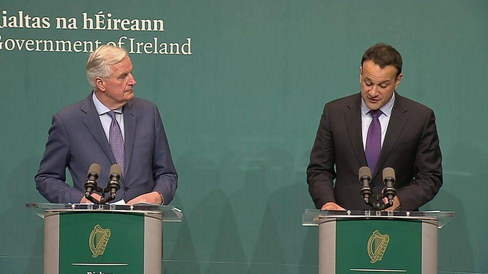 Barnier and Varadkar