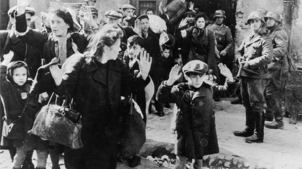 Images from the Warsaw Ghetto