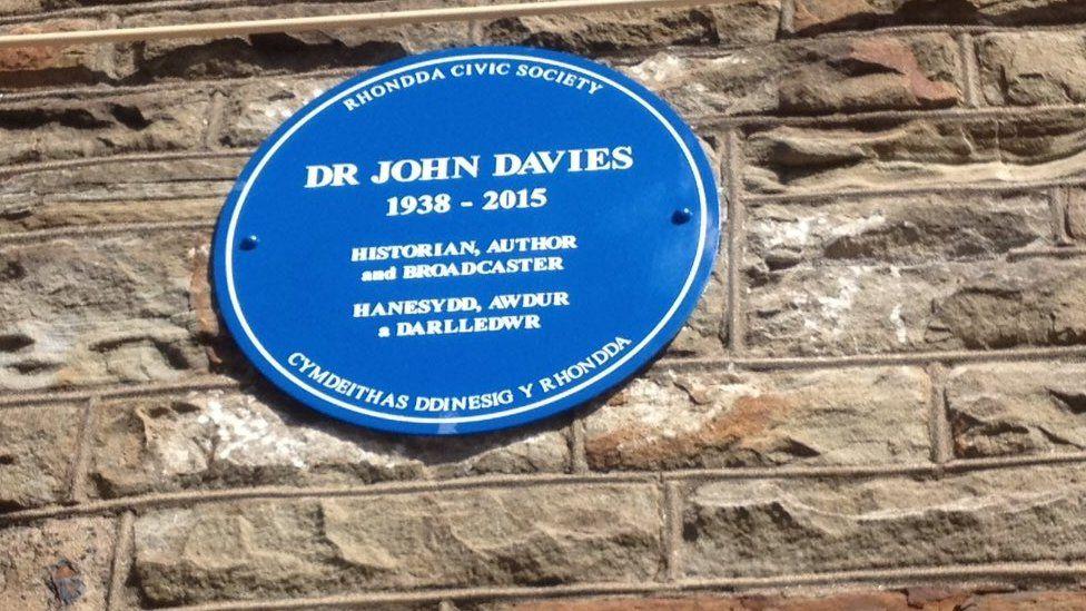Plac i gofio John Davies