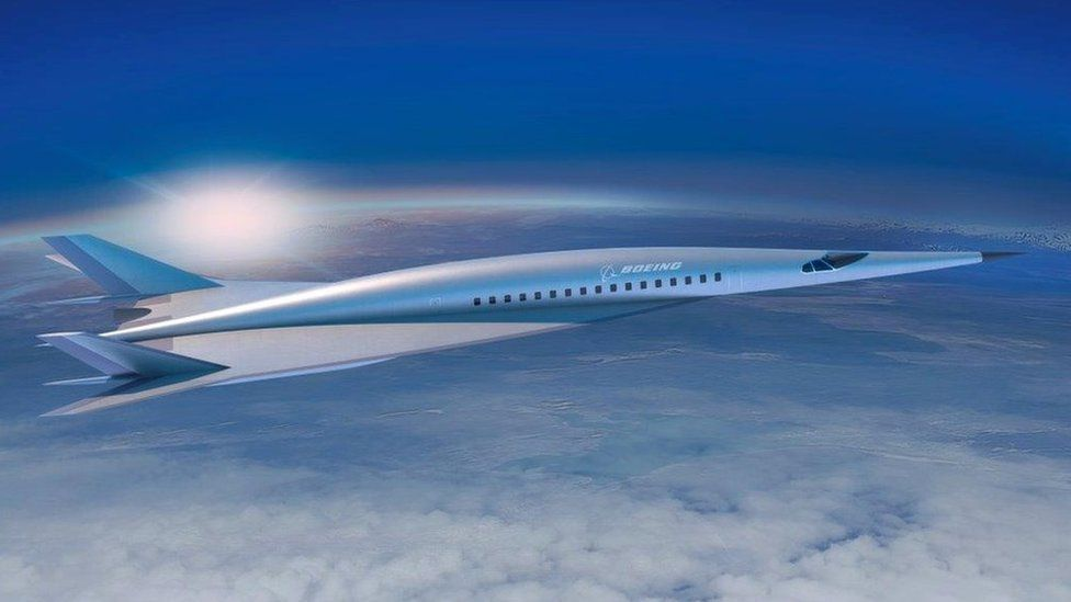 Boeing's proposed passenger-carrying hypersonic airliner