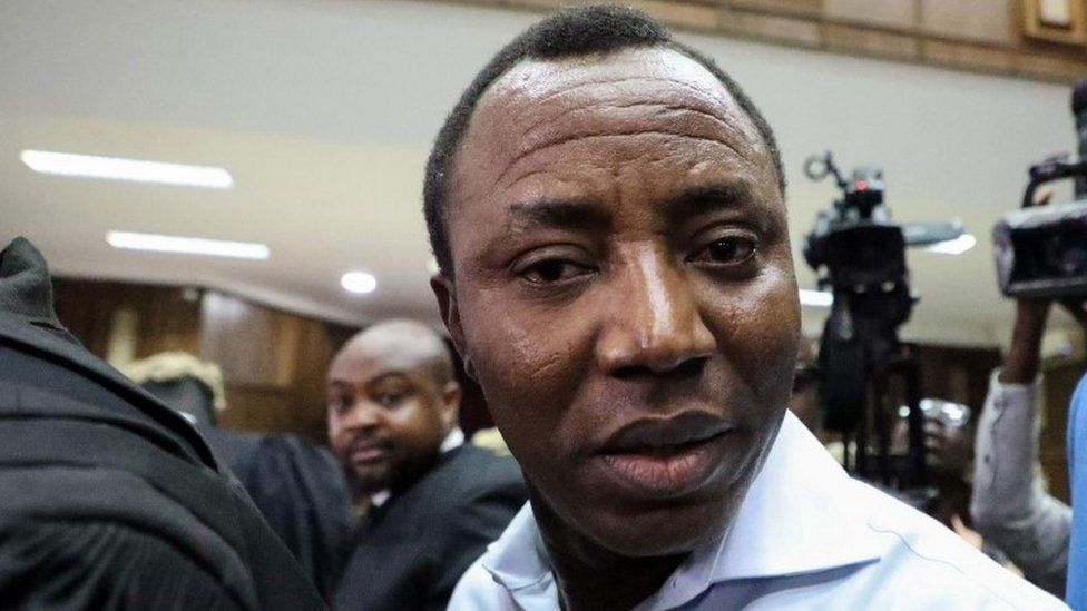 Omoyele Sowore: Anger over detention of Nigerian journalist