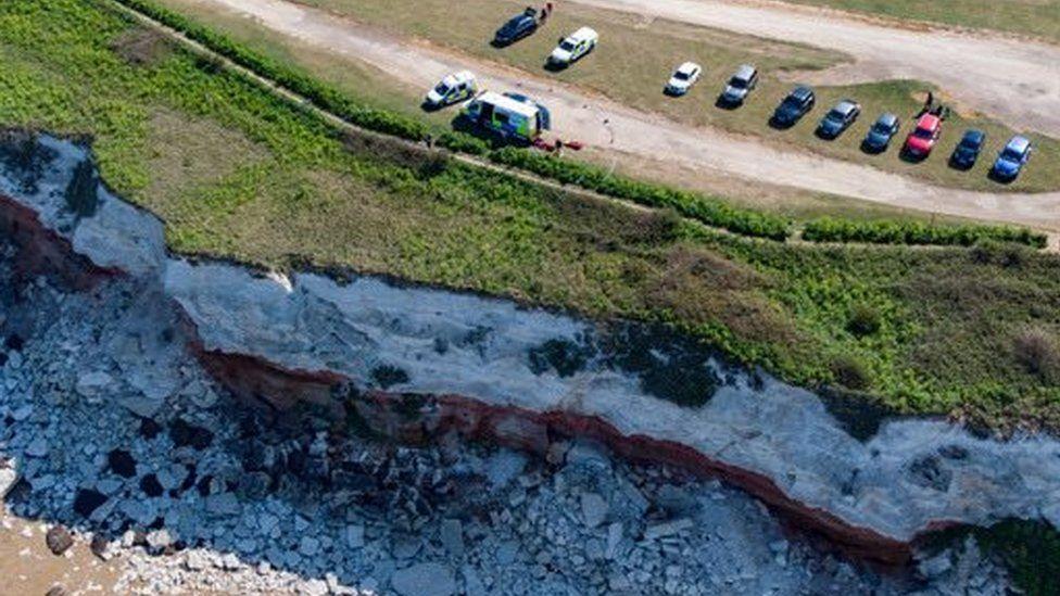 Hunstanton Norfolk Leicester man found