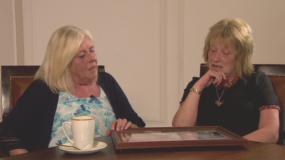 Jeanette Ervine and Liz Smith