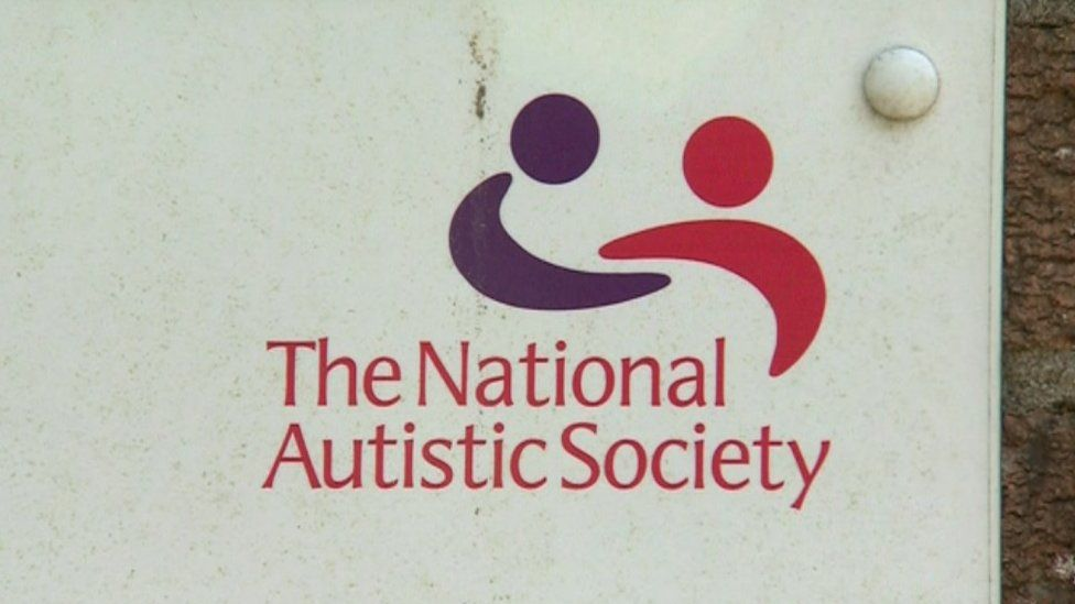 The National Autistic Society sign