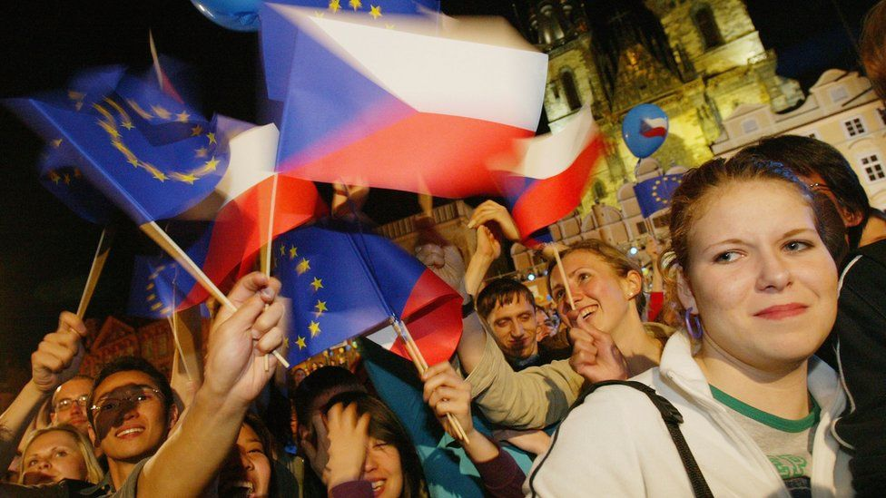 The Czech Republic was one of the countries that joined the EU in 2004
