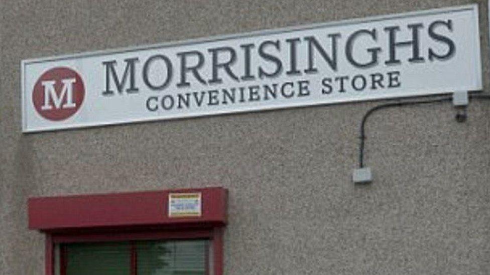 New Morrisinghs sign