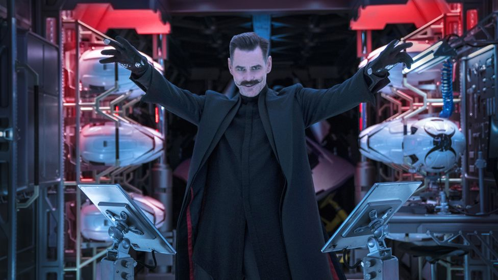 Jim Carrey as Dr Robotnik