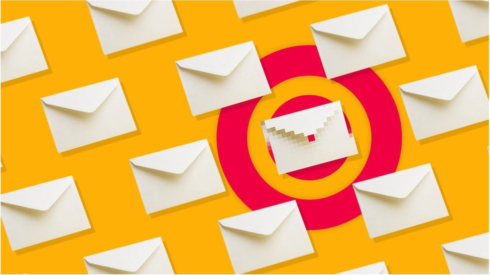 Email pixel graphic