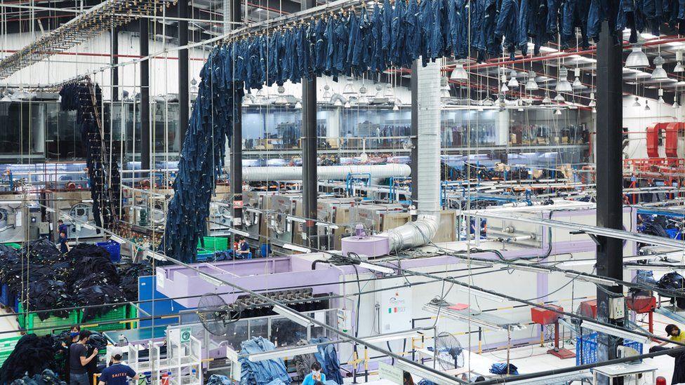 Saitex's factory
