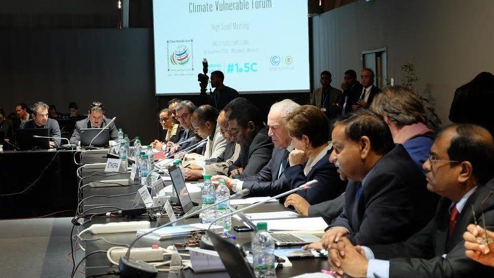Climate delegates