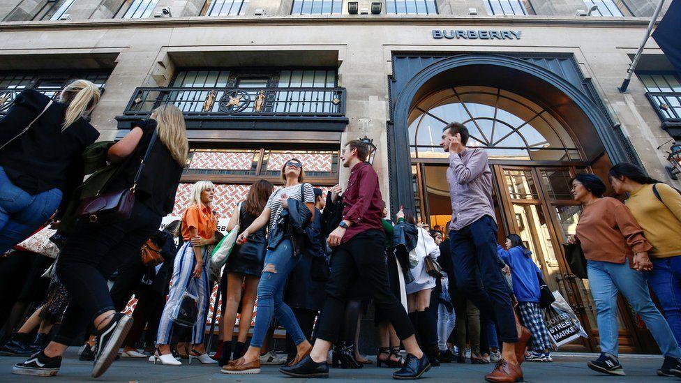 Burberry's store on Regent Street