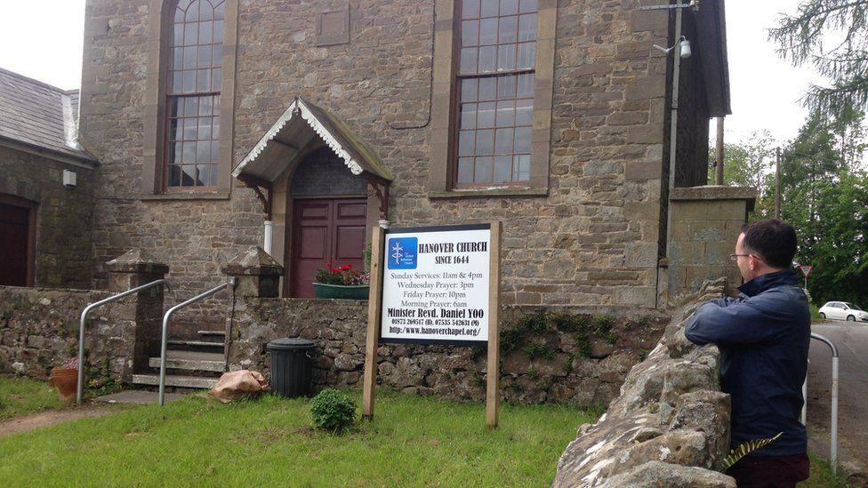 Eglwys Hanover yn Llanofer
