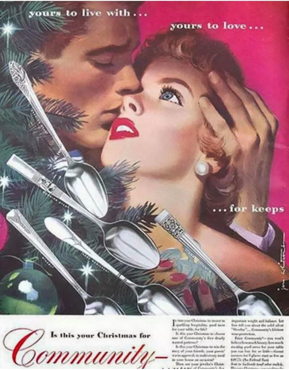 Advert for cutlery