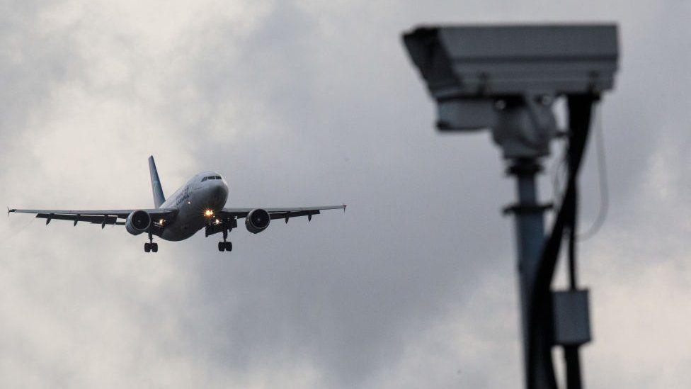 Flight into Gatwick on 21 December 2018