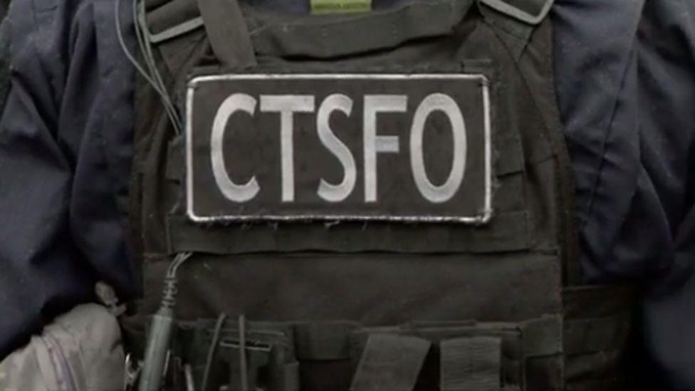 A counter-terrorist specialist firearms officer
