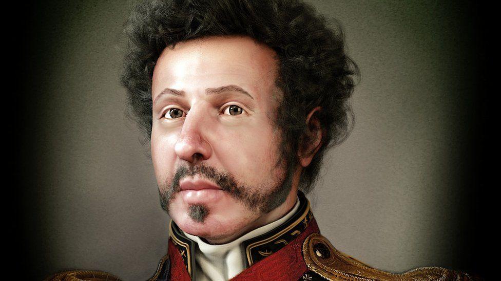 Reconstituição mostra verdadeiro rosto de D. Pedro 1º com fratura no nariz