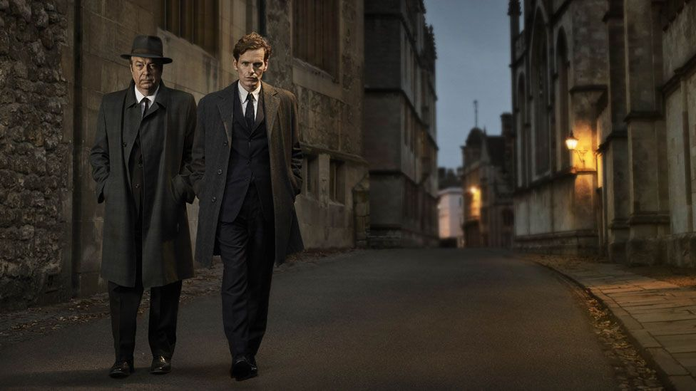 Endeavour starring Shaun Evans and Roger Allam