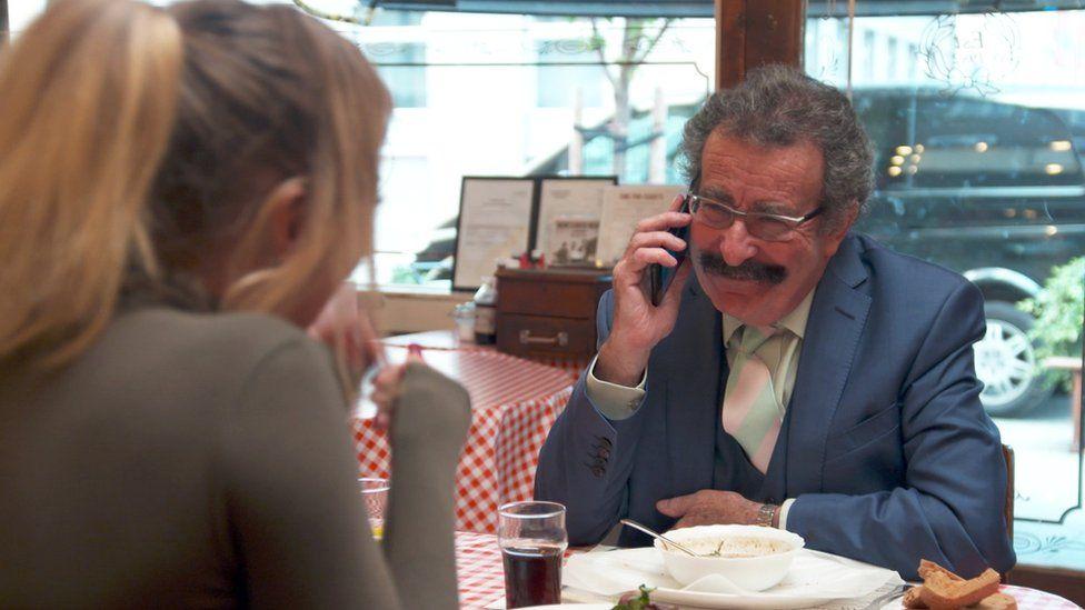 Prof Winston on the phone