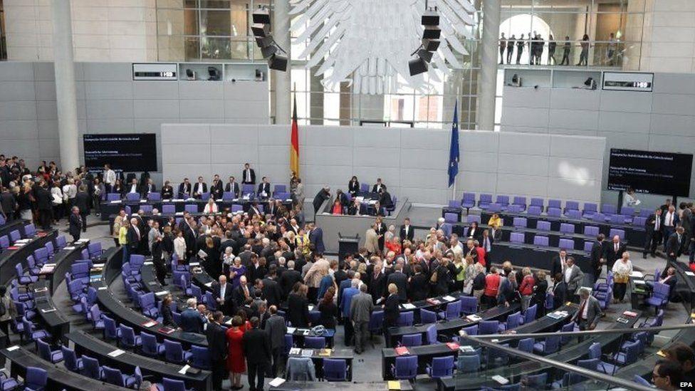 Members of the German Bundestag (19 August 2015)