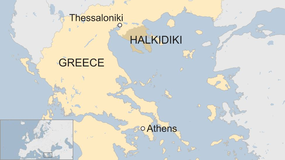 Greece storm: Seven killed in Halkidiki area popular with tourists