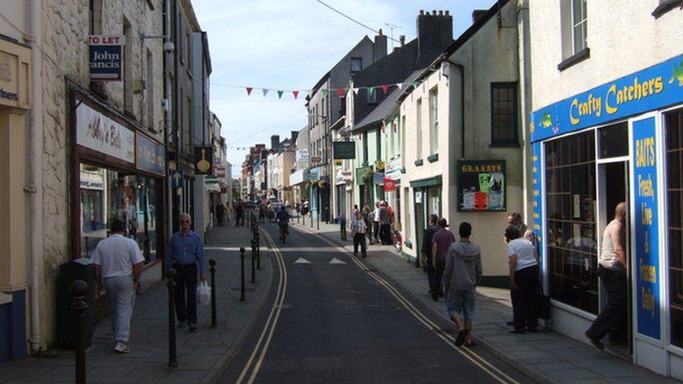 King Street in Carmarthen