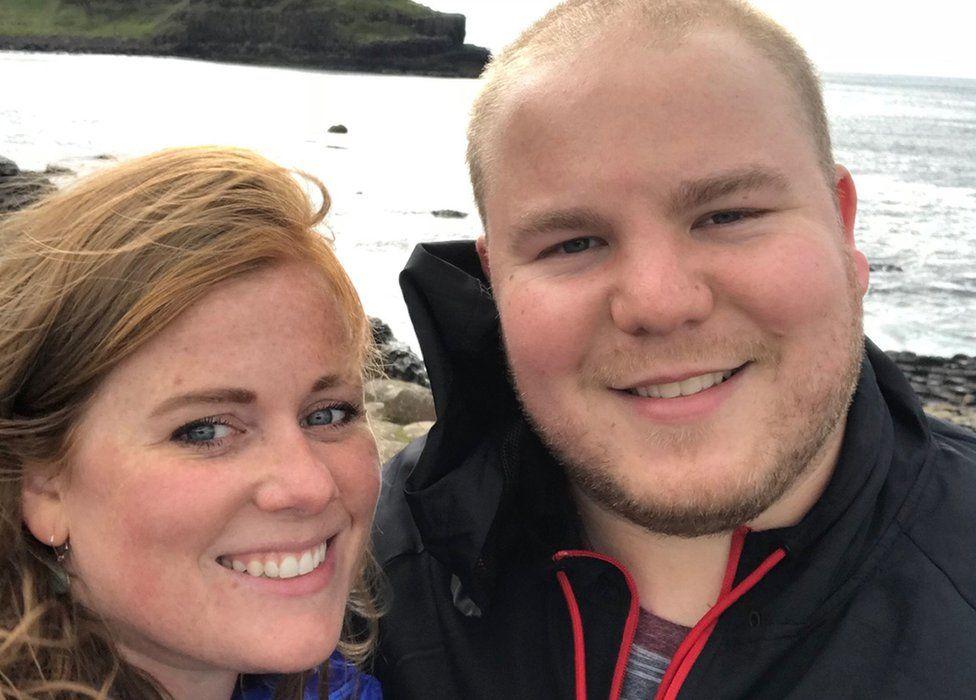 Michael and Caroline Munro were on honeymoon when he was killed