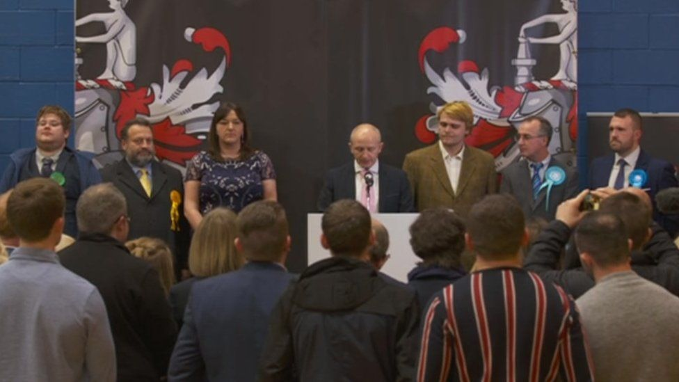 Outcome announced in Stoke-on-Trent North